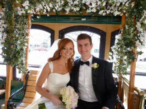 Indy Wedding Trolley Transportation